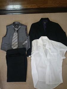 卒園式・入学式男児用スーツ