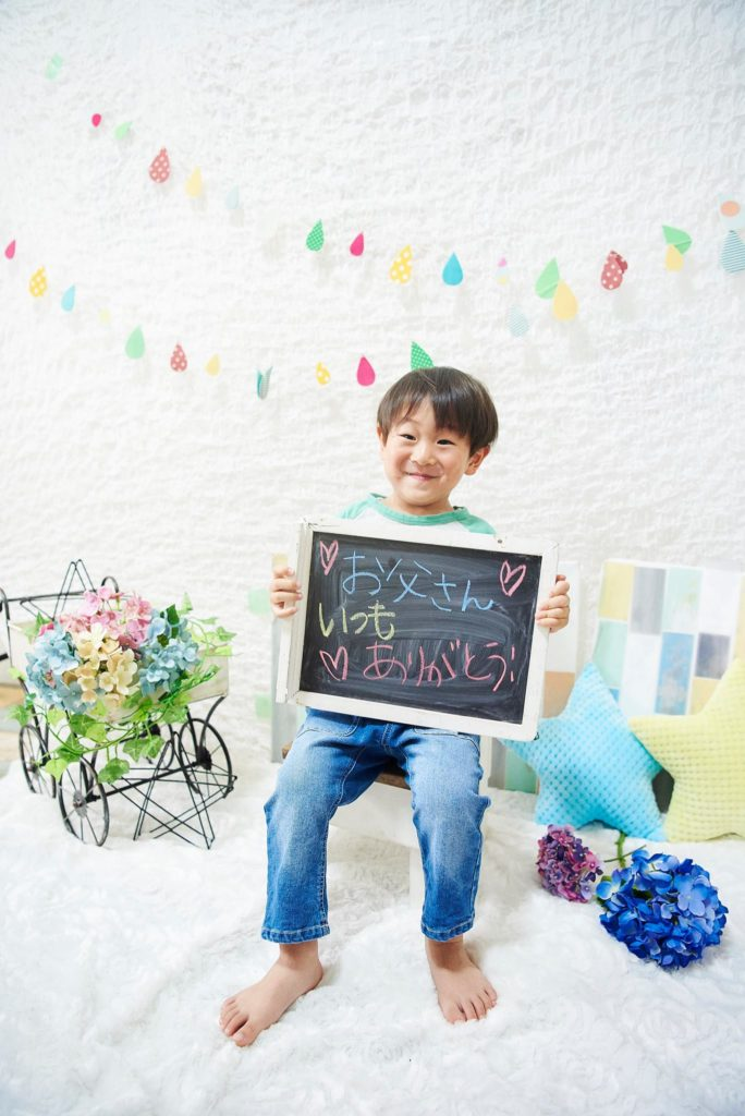 【父の日やバースデーにも!】季節の親子撮影体験×親子カフェ